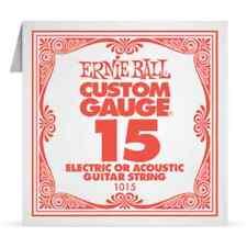 ERNIE BALL Corde à l'Unité Electrique ou acoustique Custom Gauge - 1015/15