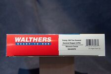 WALTHERS TRINITY 100TN CEMENT COVERED HOPPER (2-PK) WISCONSIN CENTRAL