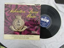SALVATION ARMY lp MUSIC Regal zonophone  / lrz 4001..... 33rpm