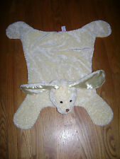 Baby Gund Collection Dog Security Blanket Lovey Plush Yellow 26' x 26""