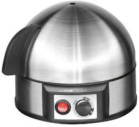 Clatronic Eierkocher 400W Edelstahl 7 Eier inox Akustisches Signal