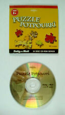 Britannica Family Collection Puzzle Potpourri Daily Mail Promo CD ROM