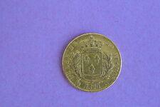 20 FRANCS OR LOUIS XVIII 1814 A correcte type petit prix !!
