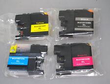 4x kompatible Patrone für Brother MFC-J4510DW J4610DW J4710DW J650DW J470DW