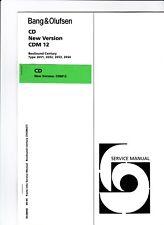 Bang & Olufsen New Version CDM12 Original Service Update for BeoSound Century