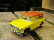 MATCHBOX SUPERFAST n° 18 JEEP FIELD CAR ENGLAND 1969 bon état, voir photo