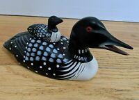 Darrens Decoys Hand Painted Duck Mallard Decoy with Baby Duck