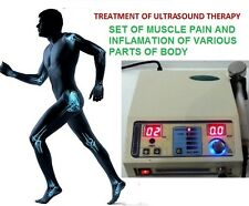 Therapeutic Ultrasound Therapy deep heat Pain Relief Ultrasound Massager @IGHU65