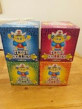 4x Bad Taste Bears Teddy does Dollies set of four boxed