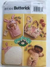 "Butterick 5304 Cabbage Patch Kids Bath Items Pattern 11"" To 14"" Dolls - Uncut"