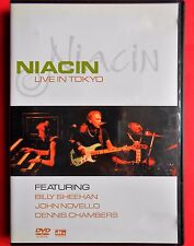 dvd niacin live in tokyo band jazz rock progressive billy sheehan john novello v