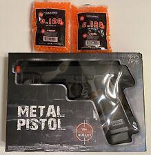 G6 metal gun military PT302 spring airsoft pistol w/ 6mm bb 250 fps+2000