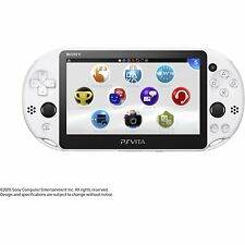 SONY Playstation Vita PSV 2000 WiFi Console Glacier White CN *VGC*+Warranty!