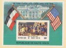 MayfairStamps 1976 Burkina Faso 367a United States Bicentennial Souvenir Sheet M