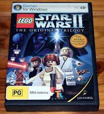 LEGO Star Wars II 2 The Original Trilogy PC Video Game Complete in Box