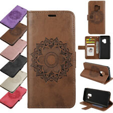 Wallet Flip Leather Phone Case Cover For Samsung Galaxy S10 A50 A3 A5 J3 J5 2017