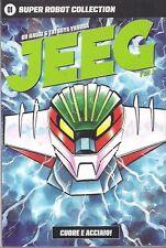 fumetti Go Nagai JEEG ROBOT SUPER ROBOT COLLECTION COMPLETA 1/2 DYNAMIC