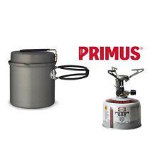 Primus Micron Stove Set with LiTech Trek Kettle 1L Cooking Pot 1-2 People