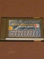 More details for com one laptop pcmcia modem card data fax  post free