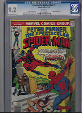 PETER PARKER, THE SPECTACULAR SPIDER-MAN #1 CGC 9.2 NM WHITE PAGES