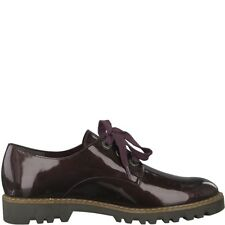 TAMARIS Badam Patent Brogues UK 7 EU 41 JS50 91