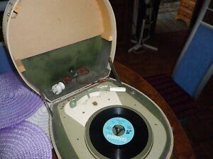 Philips Plattenspieler Kofferplattenspieler tragbar, 78/45/33/16 an Bastler