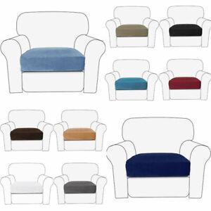 Slipcover Sofa Pillow Cushion Covers Elastic Velvet Seat Covers Corner Slipcover