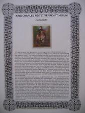 Irrtümer auf Briefmarken / Paraguay Mi 2153 : Rittergemälde - Anthonis van Dyck