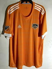 Adidas MLS HOUSTON DYNAMO ORANGE TEAM JERSEY SZ L
