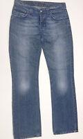 NUDIE Jeans 'BOOTCUT OLA BLUE BLACK' Indigo W33 L34 EUC RRP $269 Mens