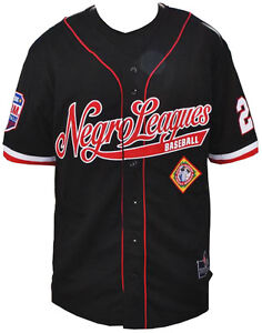 NLBM Negro Leagues Baseball Jersey Black