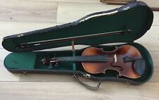Antique 'Antonius Stradivarius Anno 1713' 3/4 Size Violin With Case
