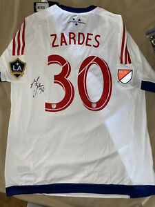 Rare Adidas MLS All Star 2015 Los Angeles Galaxy Gyasi Zardes Autographed Jersey