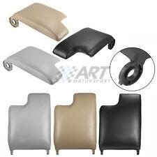 Tapa de reposabrazos para Bmw E46 Serie 3 cuero sintético beig gris negro