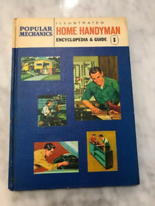 Popular Mechanics - Illustrated Home Handyman Encyclopedia & Guide Volume 3 1961