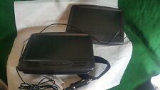 "2 Rca 10"" Screens-Dvd Player- For Auto Headrests"