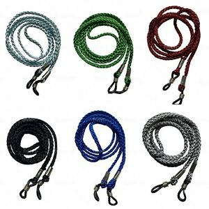 NEW Strong Glasses / Sunglasses / Spectacle Neck Cord Cords Strap Holders