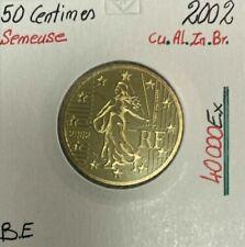Pièces euro de la France Année 2002 50 Cent