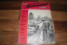 der FRONTSOLDAT erzählt...  # 11/1952 -- FREMDE HEERE / MARINESTATION MÜRWICK