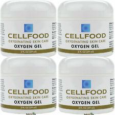 4x CELLFOOD Lumina Oxygen Gel Skin Care 2 fl oz Made in USA FREE SHIPPING