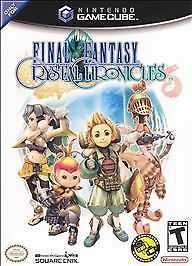 Final Fantasy Crystal Chronicles w/GBA Cable Nintendo Game Cube NEW