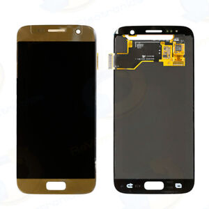 Samsung Galaxy S7 LCD Display Touch Screen Digitizer Assembly (Gold)