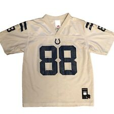 INDIANAPOLIS COLTS Reebok NFL Jersey Shirt avec #88 Marvin Harrison-Taille UK XS
