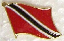 Hat Lapel Pin Tie Tac Push Flag of Trinidad & Tobago N