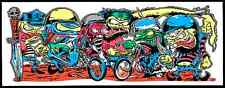 Dirty Donny Motor Cycle Gang Silkscreen Art Print Poster 2009 Ed Roth Monsters