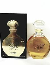 PARFUM SACRE 3.3 / 3.4 OZ EDP SPLASH FOR WOMEN NEW IN OPEN BOX BY CARON
