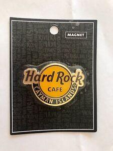 Hard Rock Cafe HRC Cayman Island Classic Logo Magnet NWT