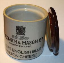 Fortnum&Mason Finest English Blue Stilton Cheese ceramic jars w/ cover Denby