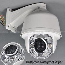 Auto Tracking SONY CCD 30x Zoom 1200TVL 8pcs LEDs PTZ DOME Security Camera CCTV
