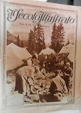 IL SECOLO ILLUSTRATO 22 agosto 1926 Tende sui monti Kemal Pascia Tutankamen di e